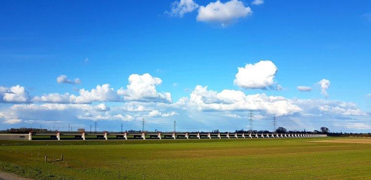 De Kerkdijk bij Heerde