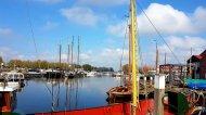 De haven van Elburg. Een stuk groter dan verwacht!