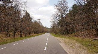 Vandaag meer van dit soort wegen, ook niets mis mee!