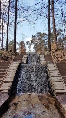 De hoogste waterval van Nederland (15 meter) bij Loenen. Ik stond er letterlijk IN toen ik deze foto nam!